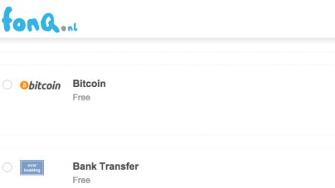Fonq.nl accepteert Bitcoins